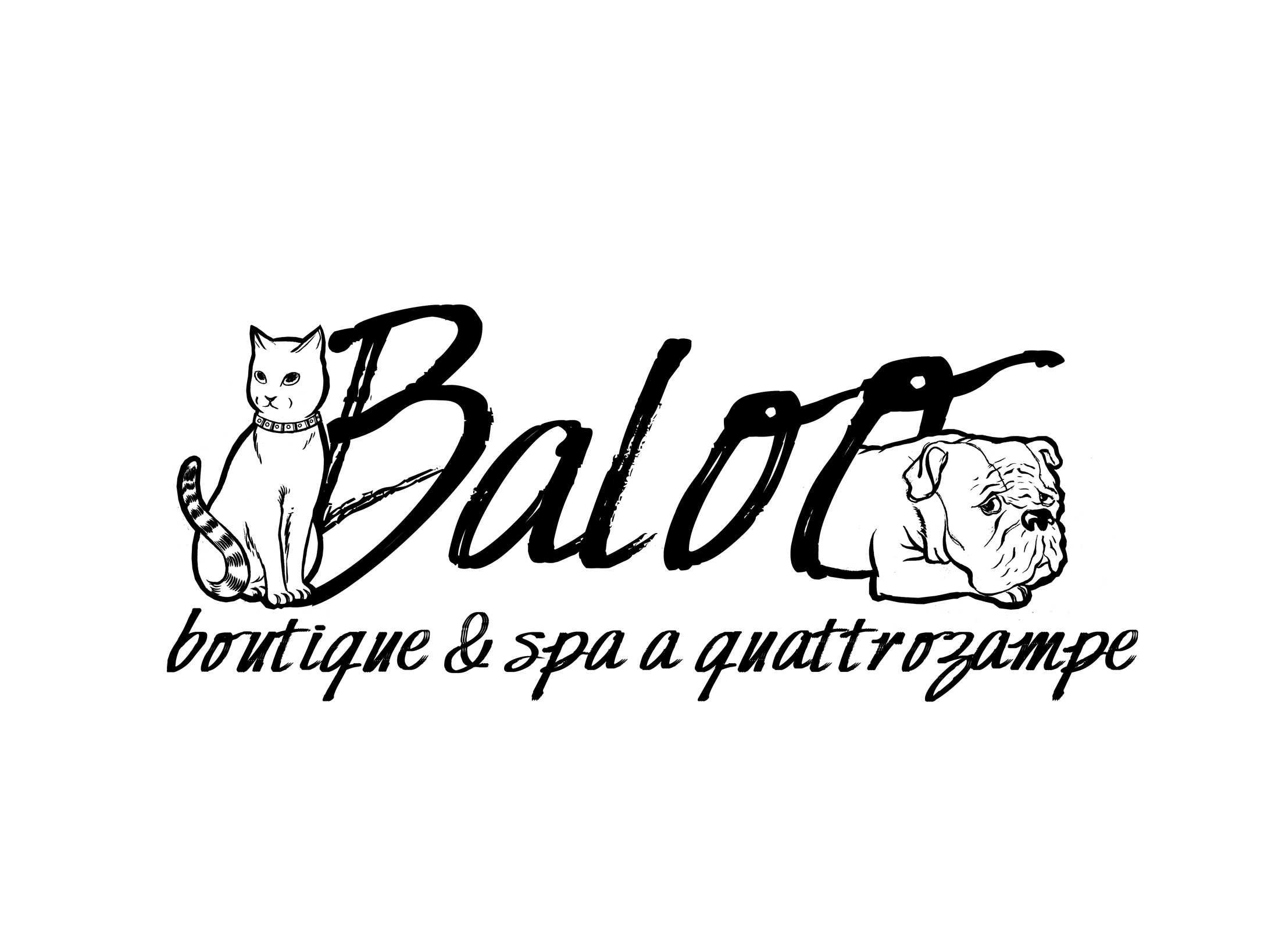 Logo - Baloo Boutique & Spa A Quattrozampe